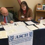 Steve Armstrong and Karla Ekquist-Lechner at work
