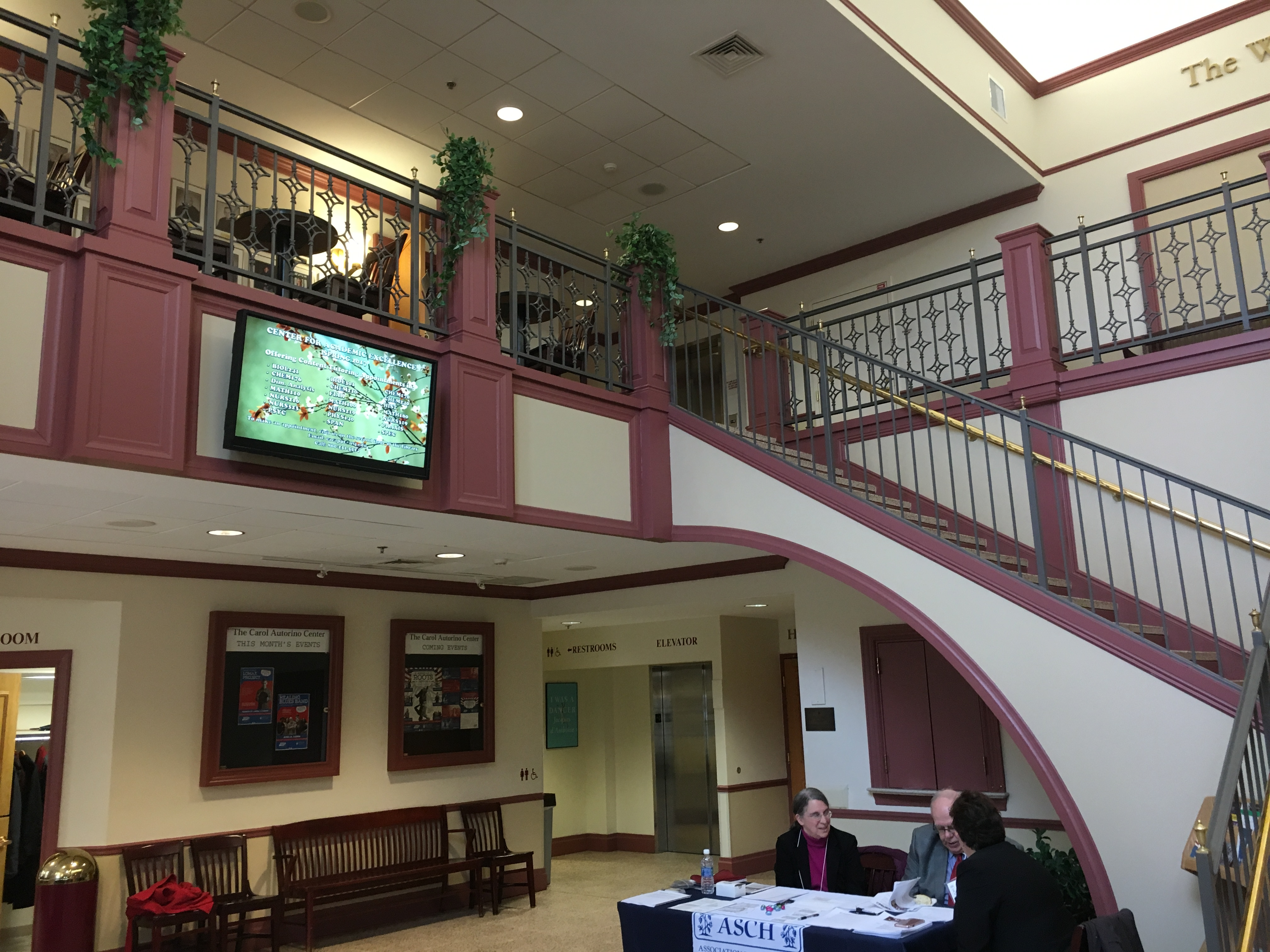 the Coleman Lobby at USJ