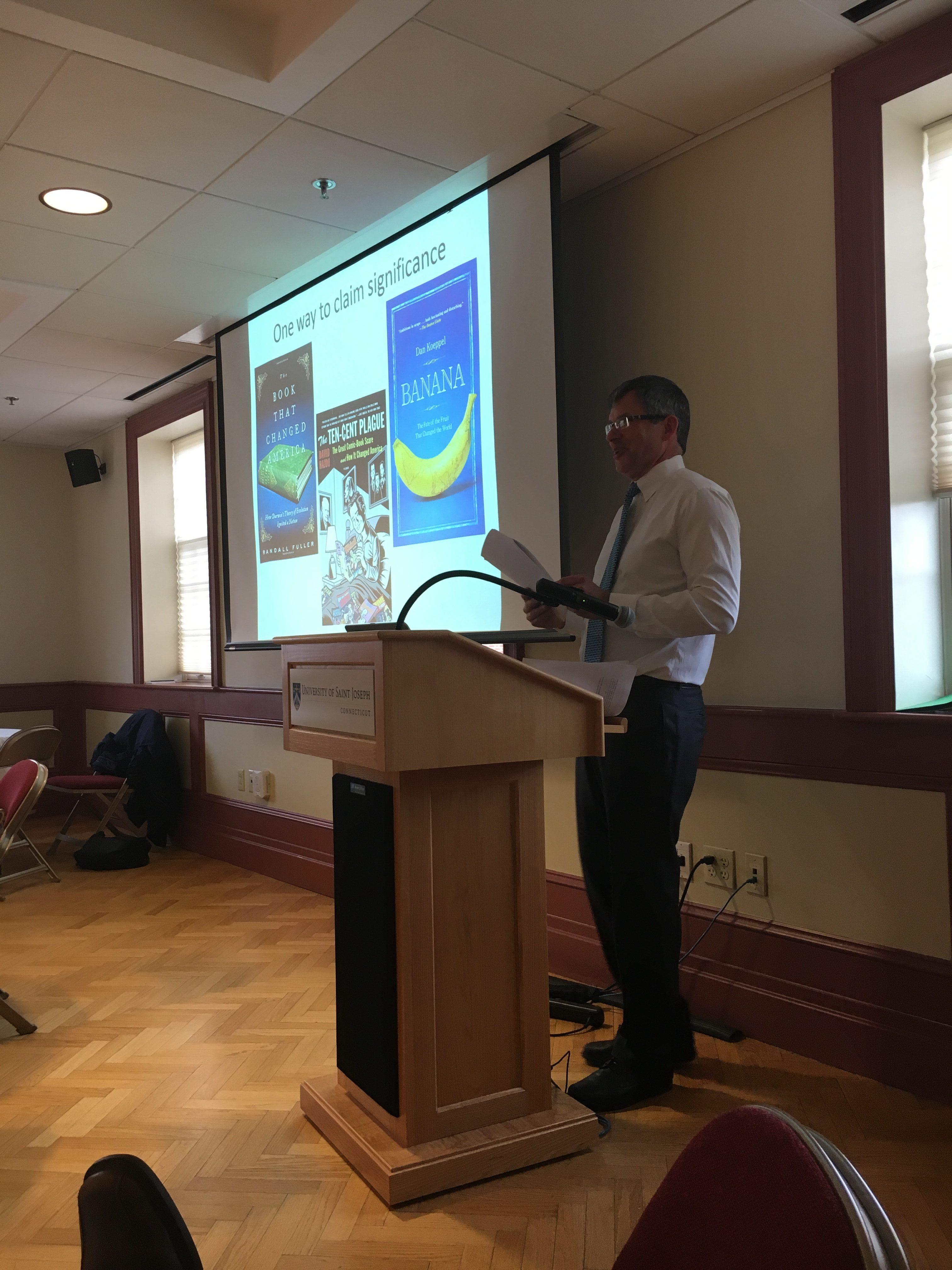 Peter Baldwn, UCONN, closing remarks